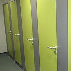 Kemmlit refurbishes toilets at School of Pharmacy