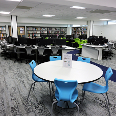 Spaceforme classroom furniture at Salford College
