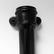 Unique socket for Alumasc Rainwater's Cast Iron Spun Pipes