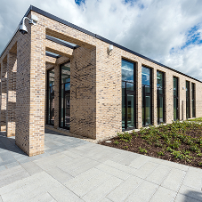 Nexus® brick faced soffit units for Muirfield Centre