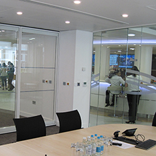 Glass movable walls for Winton Capital