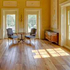 Solid oak flooring for historic listed property