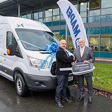 Mapei 'Win a Van' competition prize winners