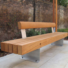 Timber seats & benches for Ronald McDonald House