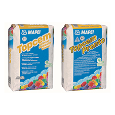Mapei Topcem ideal solution across sectors