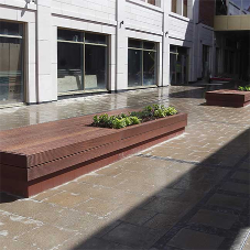 New street furniture design for Baxter Gate