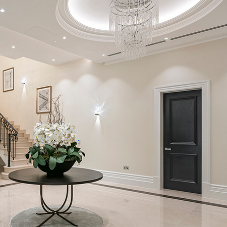 Artisan panel doors bring luxury to Surrey mansion