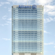 Transparent glazing for Torre Allianz