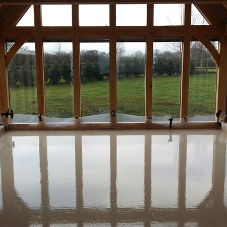 Easyflow supplies liquid floor screeds for new builds