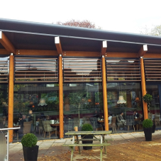 Timber Brise Soleil for Lendal Engine House