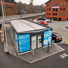 Broxap provides cycle hubs for Stockport