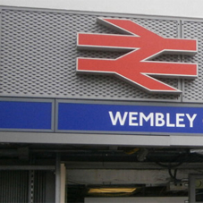 Architectural mesh for Wembley Central Station