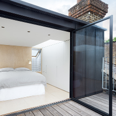 Loft conversion increases living space in London apartment
