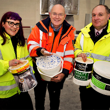 New investment ensures Crown Paints makes the most of waste