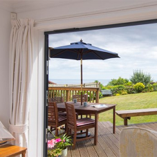 Origin doors provide unrestricted sea views in Devon