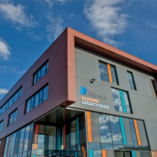 Eurobond composite panels at Sheffield Technical College