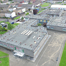 Counterweight System used for school roof refurb