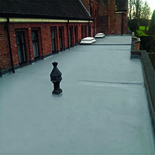 Topseal Direct Lay ideal for Church refurbishments