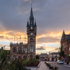 New slate roof for Renfrew Town Hall