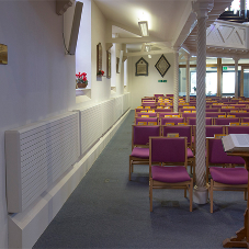 Efficient heating solutions for Bidport Church