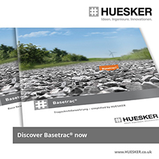 Base reinforcement products  simplified by HUESKER