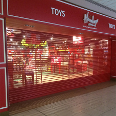 New security shutters for Hamleys store