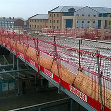 Combisafe ensures Crossrail Station is on track