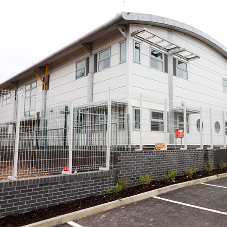 Specialist school fencing for Garfield Primary
