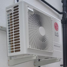 Air conditioning as primary heat source