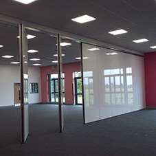 Acoustic movable walls for Doncaster academy
