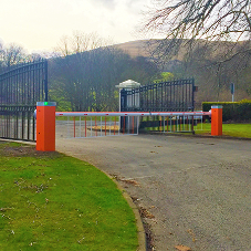 Nice UK access control at Loch Lomond Golf Course