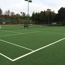 Playrite's Grandplay surface for Four Oaks Tennis Club