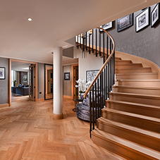Mapei wood products for Westminster apartments