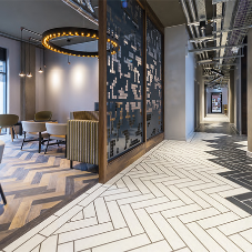Luxury floor tiles for student accommodation
