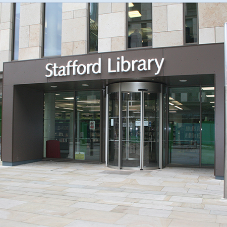 Gilgen adds a touch of style to Stafford Library