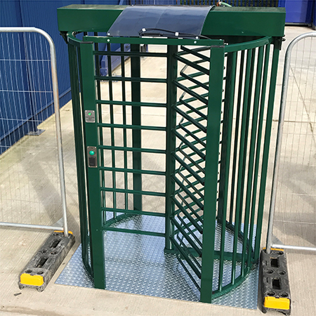 New turnstile to launch at Traffex 2017
