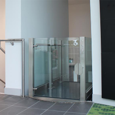 Bespoke platform lift for prestigious university
