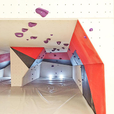 The Ballroom Climbing Wall chooses Entre-Prises