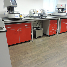 Lab furniture for product development centre