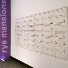 Mailboxes add sleek touch at London East Village