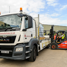 Glassolutions recognised as first rate fleet operator