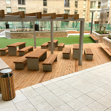 External furniture for Greengate project