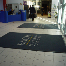 Durable, bespoke entrance carpets from Heckmondwike FB