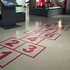 noraplan® rubber flooring for M Shed Museum