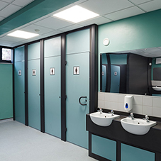 Centurion cubicles for York High School