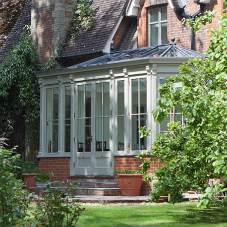 Perfectly formed conservatory for Victorian Vicarage