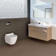 The new Geberit AquaClean Tuma shower toilet