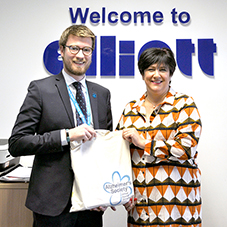 Elliott Group supports Alzheimer's Society