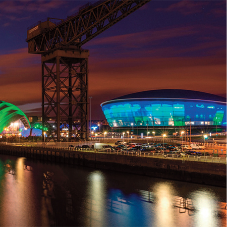 Natural ventilation system for SSE Hydro Arena