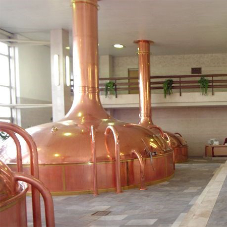 Hygienic refurbishment for brewery